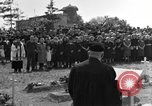 Image of burial service Germany, 1945, second 19 stock footage video 65675071659