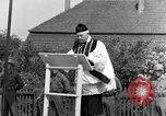 Image of burial service Germany, 1945, second 55 stock footage video 65675071659