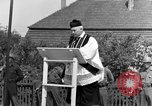 Image of burial service Germany, 1945, second 57 stock footage video 65675071659