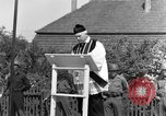 Image of burial service Germany, 1945, second 58 stock footage video 65675071659