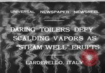 Image of hot sprays Larderello Italy, 1932, second 1 stock footage video 65675071660