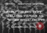 Image of hot sprays Larderello Italy, 1932, second 2 stock footage video 65675071660