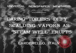 Image of hot sprays Larderello Italy, 1932, second 4 stock footage video 65675071660