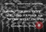 Image of hot sprays Larderello Italy, 1932, second 5 stock footage video 65675071660