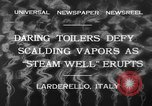 Image of hot sprays Larderello Italy, 1932, second 6 stock footage video 65675071660