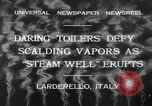 Image of hot sprays Larderello Italy, 1932, second 7 stock footage video 65675071660