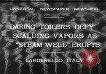 Image of hot sprays Larderello Italy, 1932, second 8 stock footage video 65675071660