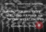 Image of hot sprays Larderello Italy, 1932, second 9 stock footage video 65675071660