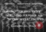 Image of hot sprays Larderello Italy, 1932, second 11 stock footage video 65675071660