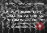 Image of hot sprays Larderello Italy, 1932, second 12 stock footage video 65675071660