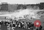 Image of shirts torn off during annual Straw Race Chicago Illinois USA, 1932, second 26 stock footage video 65675071663