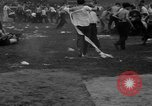 Image of shirts torn off during annual Straw Race Chicago Illinois USA, 1932, second 52 stock footage video 65675071663