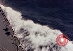 Image of U.S. New Orleans class cruiser Pacific Ocean, 1943, second 11 stock footage video 65675071665