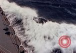 Image of U.S. New Orleans class cruiser Pacific Ocean, 1943, second 15 stock footage video 65675071665