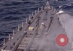 Image of U.S. New Orleans class cruiser Pacific Ocean, 1943, second 22 stock footage video 65675071665