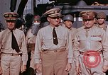 Image of USS Leonard Wood Pacific Theater, 1943, second 34 stock footage video 65675071669