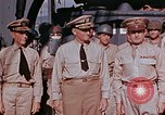 Image of USS Leonard Wood Pacific Theater, 1943, second 36 stock footage video 65675071669
