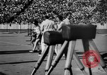 Image of Relay race in 1936 Olympics Berlin Germany, 1936, second 28 stock footage video 65675071686