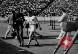 Image of Relay race in 1936 Olympics Berlin Germany, 1936, second 30 stock footage video 65675071686