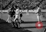 Image of Relay race in 1936 Olympics Berlin Germany, 1936, second 31 stock footage video 65675071686