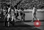 Image of Relay race in 1936 Olympics Berlin Germany, 1936, second 32 stock footage video 65675071686