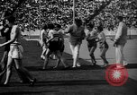 Image of Relay race in 1936 Olympics Berlin Germany, 1936, second 33 stock footage video 65675071686