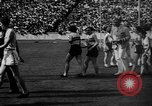 Image of Relay race in 1936 Olympics Berlin Germany, 1936, second 34 stock footage video 65675071686