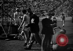Image of Relay race in 1936 Olympics Berlin Germany, 1936, second 37 stock footage video 65675071686