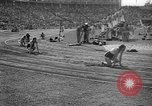 Image of Relay race in 1936 Olympics Berlin Germany, 1936, second 51 stock footage video 65675071686