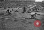 Image of Relay race in 1936 Olympics Berlin Germany, 1936, second 57 stock footage video 65675071686