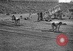Image of Relay race in 1936 Olympics Berlin Germany, 1936, second 59 stock footage video 65675071686