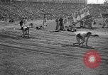 Image of Relay race in 1936 Olympics Berlin Germany, 1936, second 60 stock footage video 65675071686