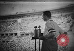 Image of Relay race medal ceremony 1936 Olympics Berlin Germany, 1936, second 1 stock footage video 65675071688