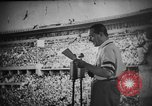Image of Relay race medal ceremony 1936 Olympics Berlin Germany, 1936, second 10 stock footage video 65675071688