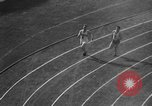 Image of Relay race medal ceremony 1936 Olympics Berlin Germany, 1936, second 51 stock footage video 65675071688