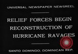 Image of Hurricane ravages Santo Domingo Dominican Republic, 1930, second 2 stock footage video 65675071702