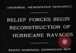 Image of Hurricane ravages Santo Domingo Dominican Republic, 1930, second 8 stock footage video 65675071702