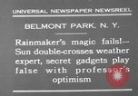 Image of weather forecasting New York United States USA, 1930, second 5 stock footage video 65675071705