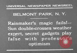 Image of weather forecasting New York United States USA, 1930, second 8 stock footage video 65675071705