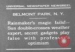Image of weather forecasting New York United States USA, 1930, second 9 stock footage video 65675071705