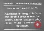 Image of weather forecasting New York United States USA, 1930, second 10 stock footage video 65675071705