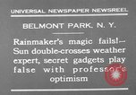 Image of weather forecasting New York United States USA, 1930, second 11 stock footage video 65675071705