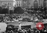 Image of anniversary of admission to Union San Francisco California USA, 1930, second 23 stock footage video 65675071706