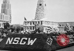 Image of anniversary of admission to Union San Francisco California USA, 1930, second 32 stock footage video 65675071706