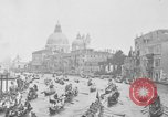 Image of annual gondola regatta Venice Italy, 1930, second 23 stock footage video 65675071708