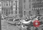 Image of annual gondola regatta Venice Italy, 1930, second 28 stock footage video 65675071708
