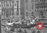 Image of annual gondola regatta Venice Italy, 1930, second 29 stock footage video 65675071708