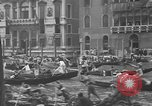 Image of annual gondola regatta Venice Italy, 1930, second 31 stock footage video 65675071708