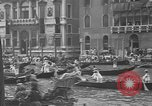Image of annual gondola regatta Venice Italy, 1930, second 32 stock footage video 65675071708