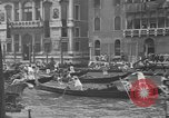 Image of annual gondola regatta Venice Italy, 1930, second 33 stock footage video 65675071708